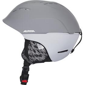Alpina Spice Casque de ski, grey matt